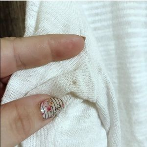 CAbi Sweaters - Cabi | Medium | Sophia lace back sweater 5005